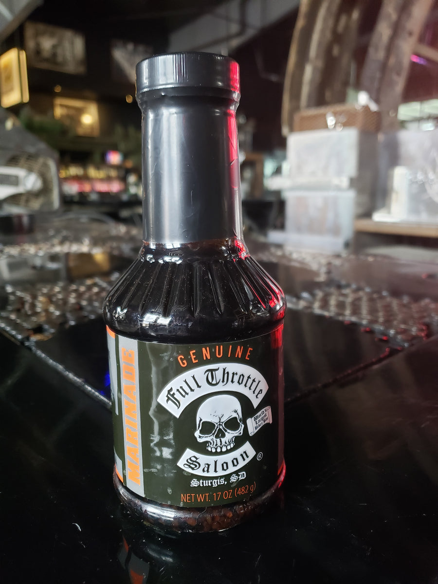 Genuine Full Throttle Saloon Sauce - Marinade