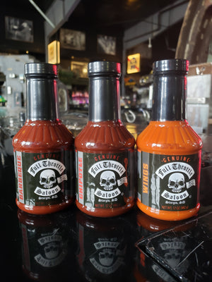 Genuine Full Throttle Saloon Sauce - Grilling Set
