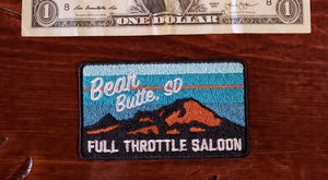 Patch - Full Throttle Saloon 3.5 x 2.5 Turqouise Bear Butte FTS patch