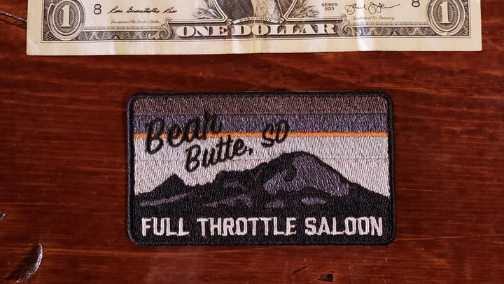 Patch - Full Throttle Saloon 3.5 x 2.5 Gray Bear Butte FTS patch