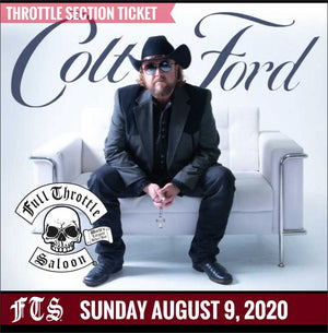 Colt Ford Throttle Section