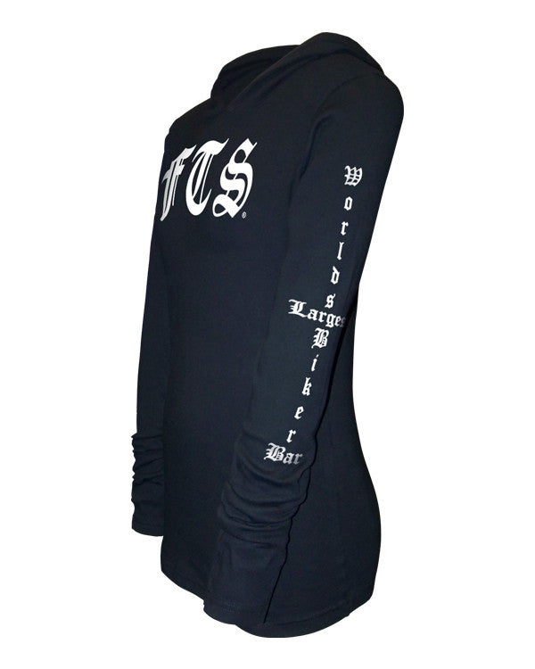 FTS Ladies Long Sleeve Rocker Hoodie