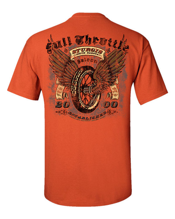 Sturgis Rally tshirts T-Shirt Tee Shirt Full Throttle Saloon