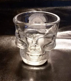 FTS Clear Skull Shot Glass