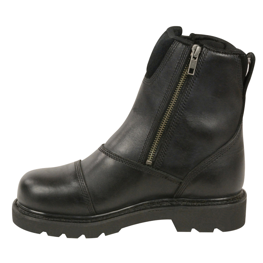 Milwaukee Leather MBL202 Women's Classic Motorcycle Boots