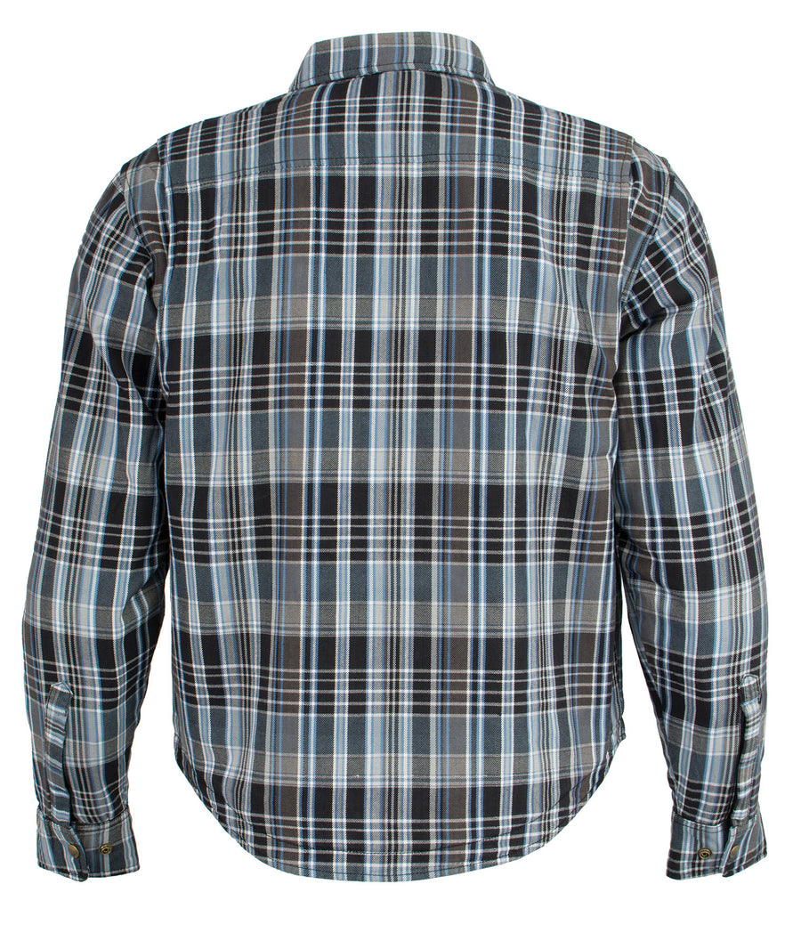 Milwaukee Performance-MPM1626-Men's Armored Flannel Biker Shirt w/ Aramid® by DuPont™ Fibers