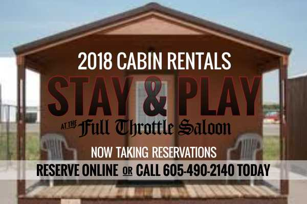 FTS Cabin Rental 2018 Rally
