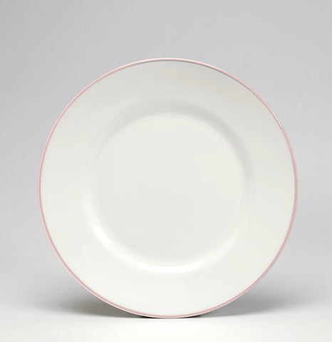 Blush/White Dessert/Salad Plate