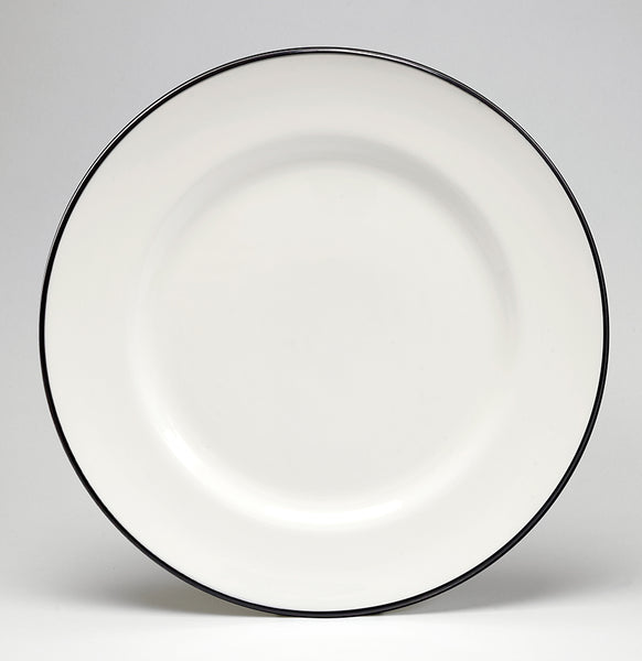 Black/White Dinner Plate - COMING SOON
