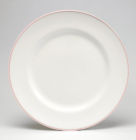Blush/White Dinner Plate - COMING SOON
