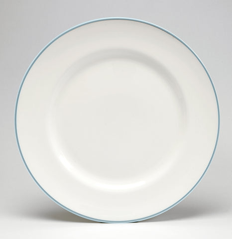 Duck Egg/White Dinner Plate