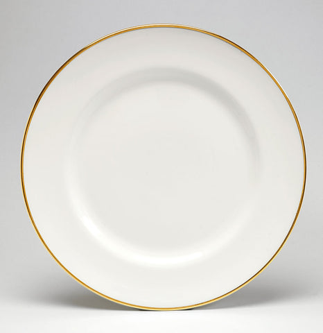 Gold/White Dinner Plate - SOLD OUT