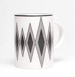 Diamond Black/Grey Mug