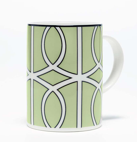Loop Apple Green/White Mug (Black)