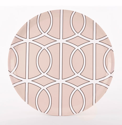 Loop Blush/White Tray