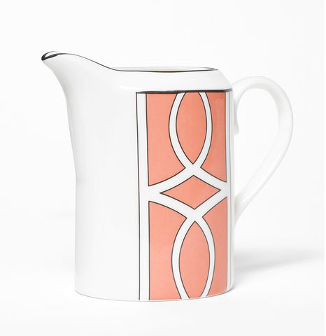 Loop Coral/White Milk Jug