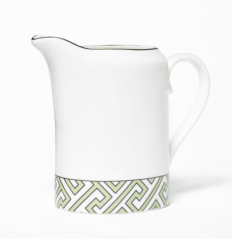 Maze Apple Green/White Milk Jug