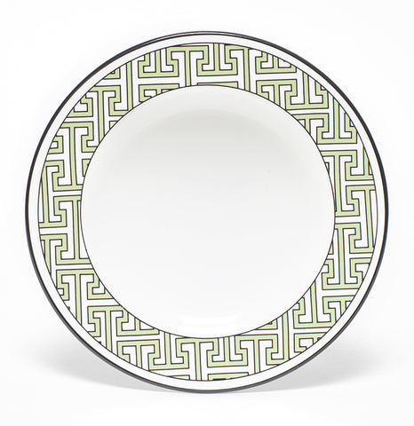 Maze Apple Green/White Teaplate Outer Design (Black) - SOLD OUT