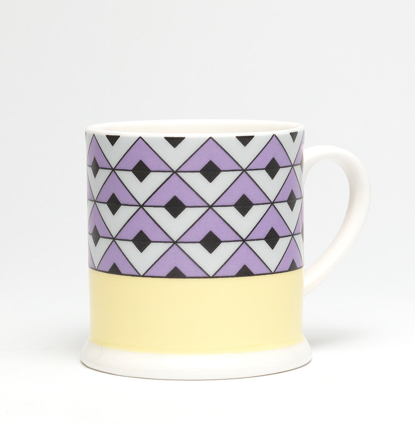 Tile Violet/Yellow Espresso - SOLD OUT