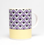 Tile Violet/Yellow Mug