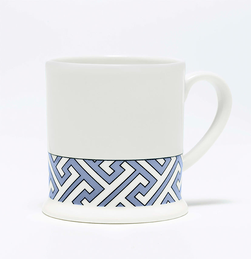 Maze Cornflower Blue/White Espresso