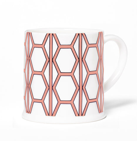 Hex White/Coral Espresso - SOLD OUT