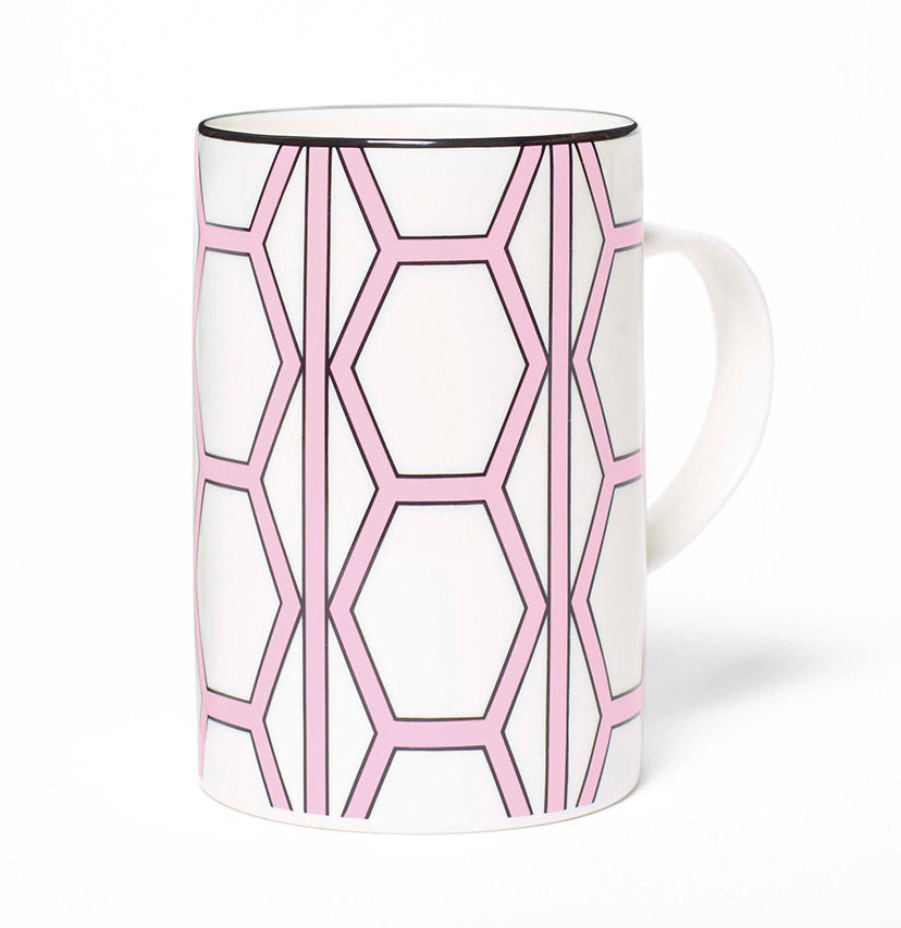 Hex White/Pink Mug - SOLD OUT