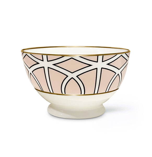 Loop Blush Sugar/Nut Bowl (Gold) - SOLD OUT
