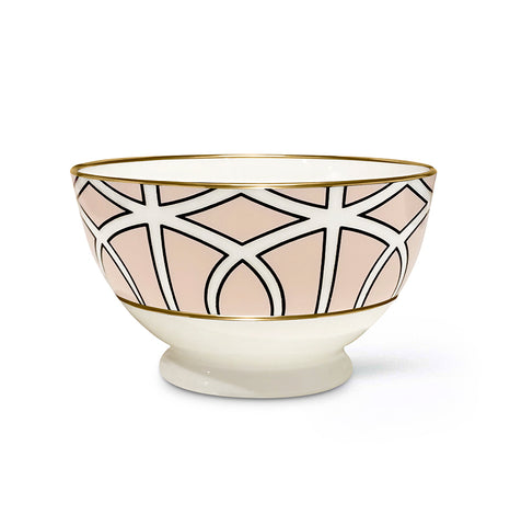 Loop Blush Sugar/Nut Bowl (Gold)