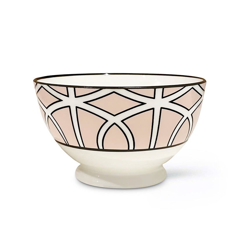 Loop Blush Sugar/Nut Bowl