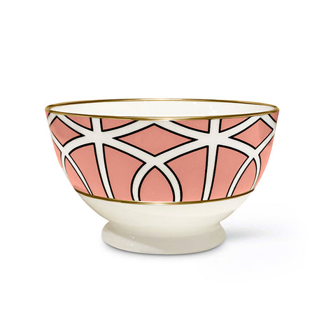 Loop Coral Sugar/Nut Bowl (Gold)