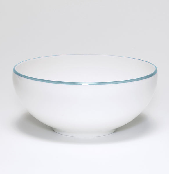 Duck Egg/White Bowl