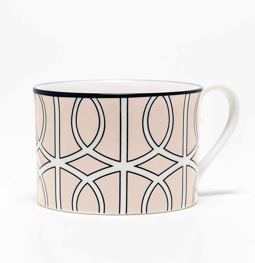 Loop Blush/White Demi Cup (Black)