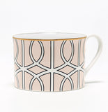 Loop Blush/White Demi Cup (Gold)