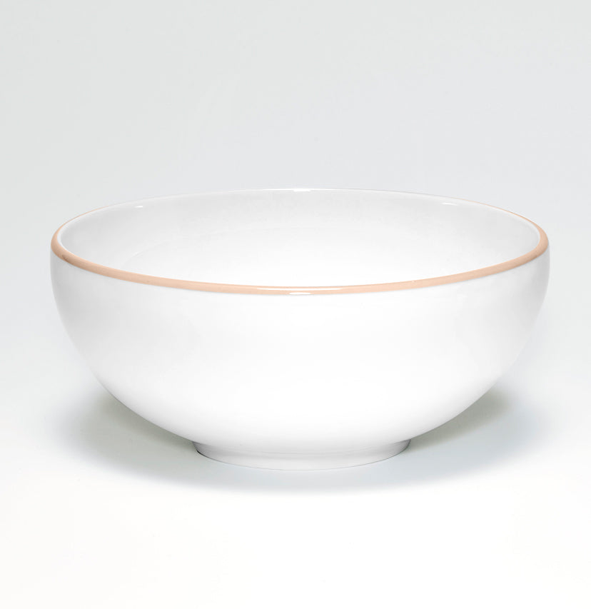 Blush/White Bowl