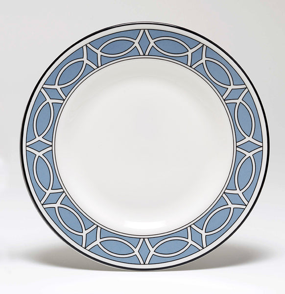 Loop Cornflower Blue/White Teaplate Outer Design (Black)