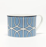 Loop Cornflower Blue/White Demi Cup (Black)