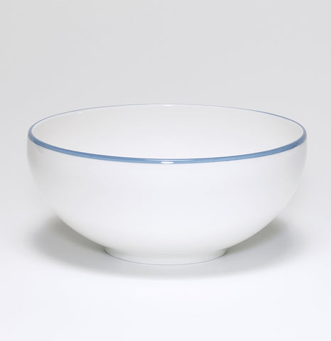 Cornflower Blue/White Bowl