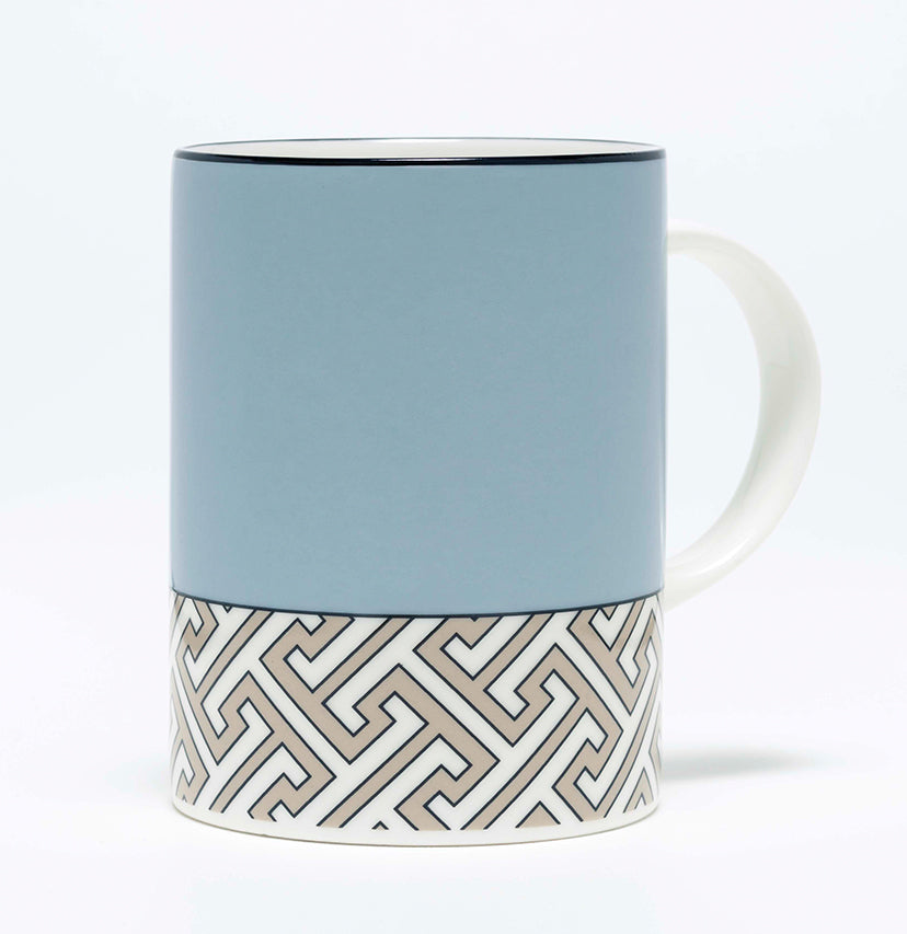 Maze Duck Egg/Truffle Mug - COMING SOON