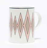 Diamond Blush/Truffle Mug