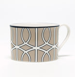 Loop Truffle/White Demi Cup (Black)