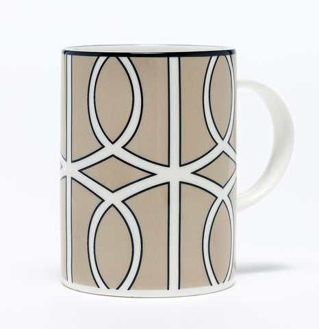 Loop Truffle/White Mug (Black)