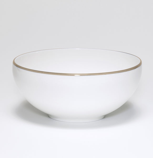 Truffle/White Bowl