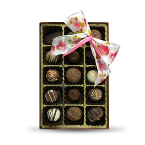 1/2 lb. Chocolate Truffle Box