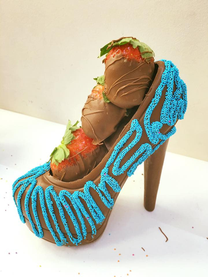 Chocolate Stiletto Heel
