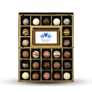 1 lb. Personalized Chocolate Truffle Box