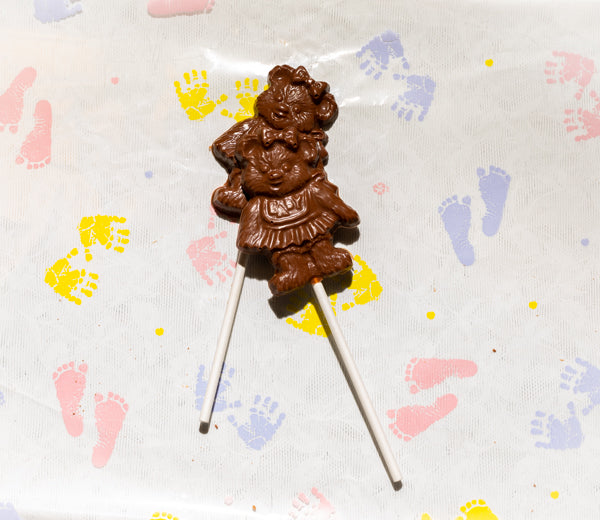 Beary Apron Lollipop