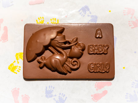 A Baby Girl Plaque