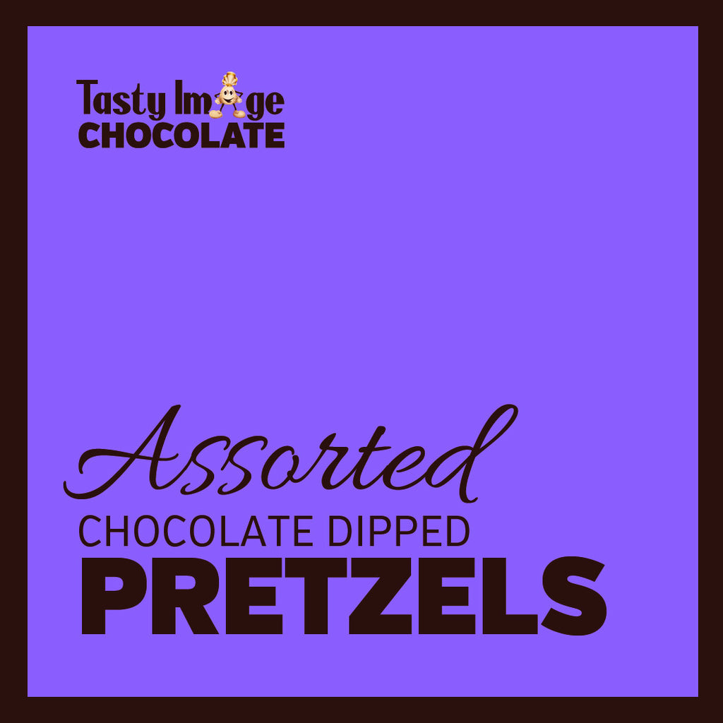 Chocolate Dipped Pretzels - 6 Pieces