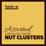 Chocolate Coated Nut Clusters - 6 pieces